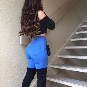 Fashion Nova super high waisted skinnies